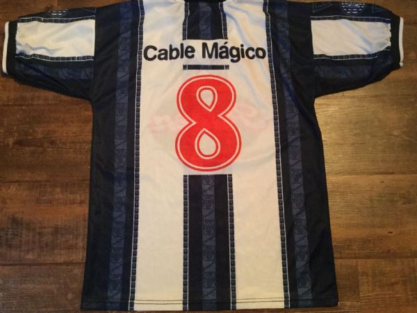 1996 Alianza Lima #8 Adults Large Football Shirt Top Camiseta Peru
